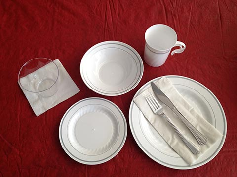 Fancy Disposable Tableware